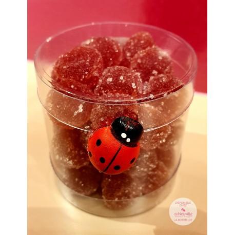 Framboisettes - Pâtes de Fruits - 65 grs Net