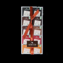 Etui 40 Carrés de Chocolats BIO - 200 grs net