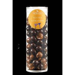 Tube de Céréales enrobées de chocolat Noir/Lait