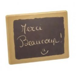 Carte Message - Chocolat Brun & Noir - 25 grs Net