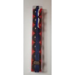 Réglette 7 mini Ballons - Praliné Noir - 70 grs net